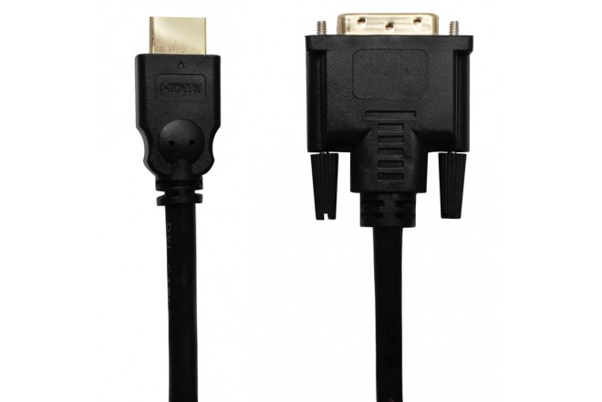 Cable BESTCOM HDMI A DVI 1.83 MT