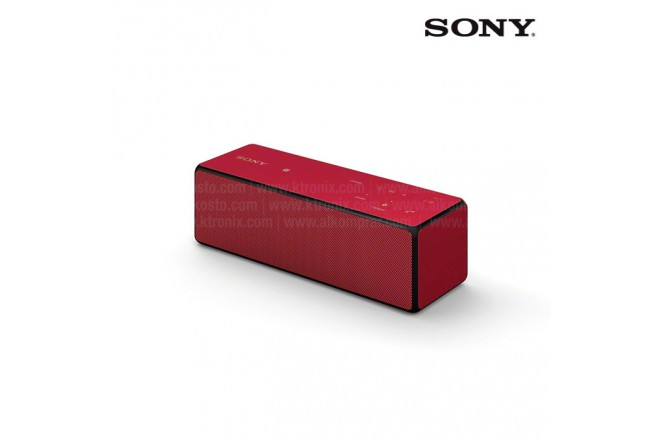 Parlante SONY SRS-X33 Rojo