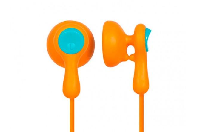 Audífonos PANASONIC Alámbrico InEar HV41 Naranja