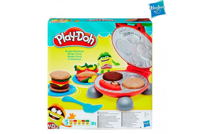 Set Hamburguesa PLAY-DOH