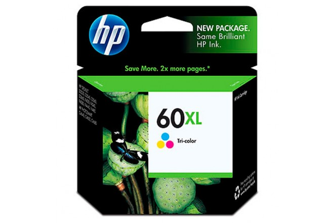 Cartucho HP 60XL Tri-Color LAR