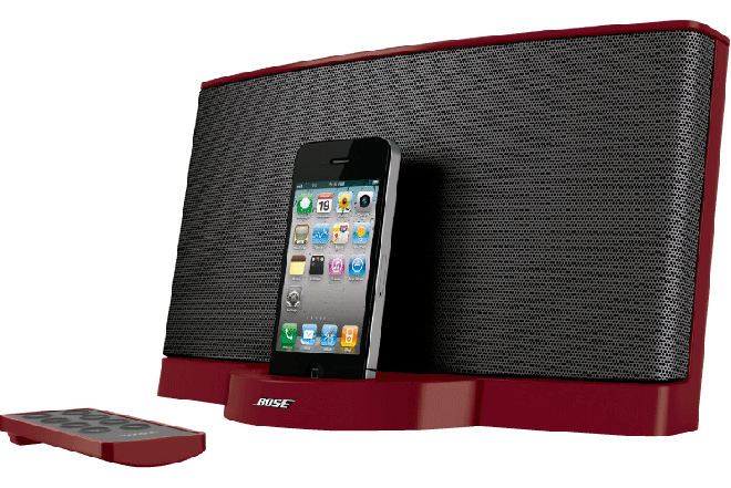 Parlante BOSE SoundDock II Red