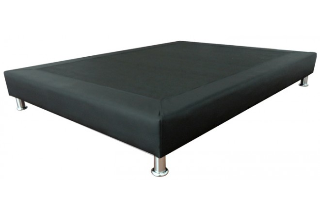 Base Cama Jazz Negro SENCILLO 100