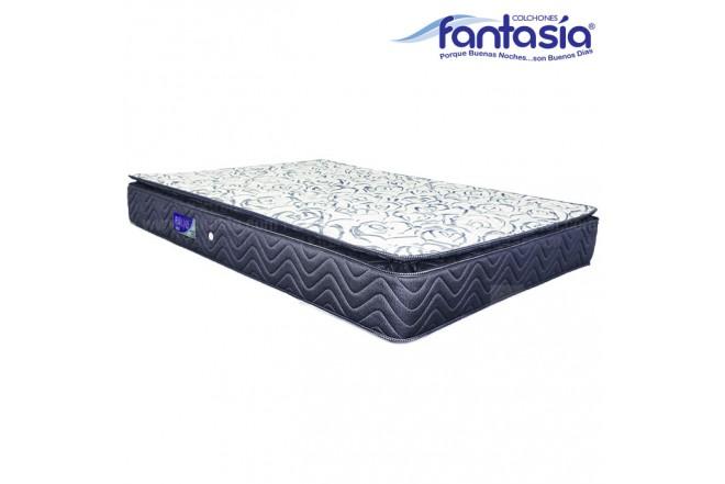 Colchón FANTASÍA Extradoble Blue Balanced 160x190 cms
