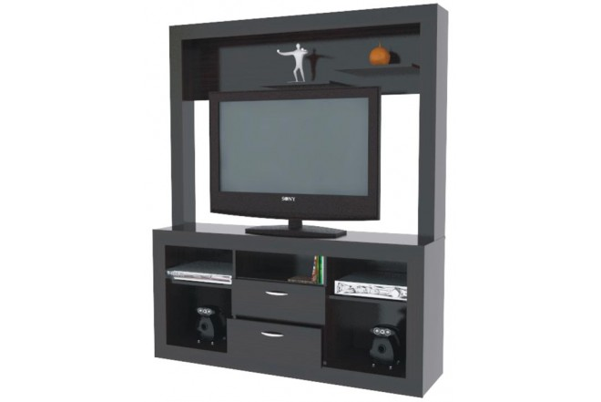 "Centro de Video y Sonido INVAL para TV 32"" CVS7202"