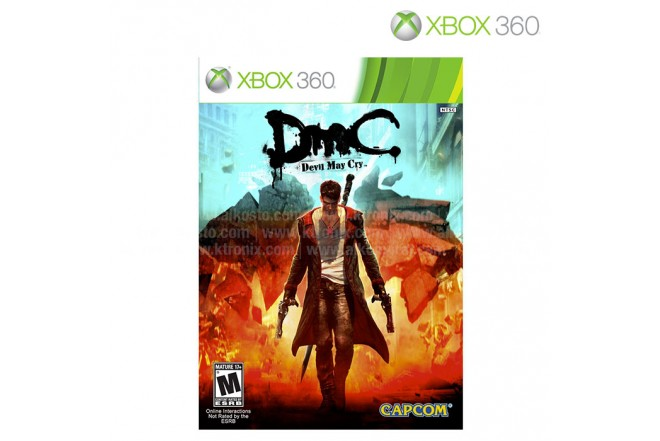 Videojuego XBOX 360 DMC Devil May Cry