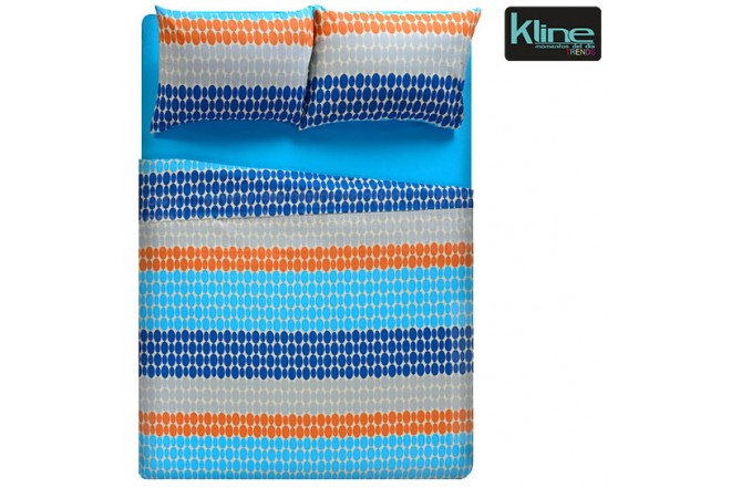 Juego de cama K-LINE estampado figuras sencillo