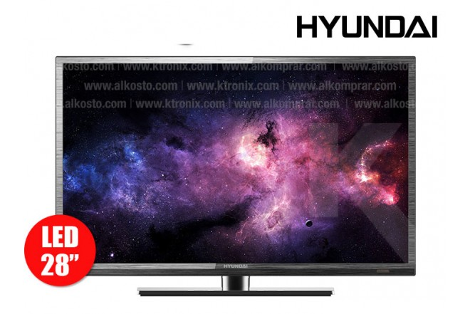 "TV 28"" (70cm) LED HYUNDAI HYLED28D FHD"