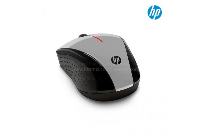 Mouse HP Inalámbrico Óptico X3000 Gris