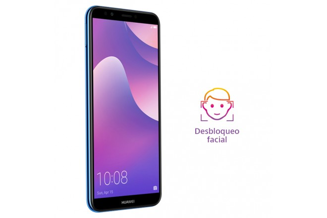 Celular Libre HUAWEI Y7 (2018) Azul DS 4G