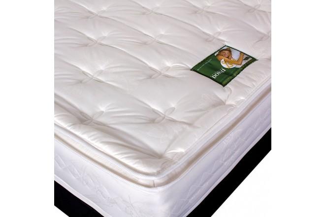KOMBO: Colchón de Resorte DORMILUNA Mercurio Unitop + Base 100x190