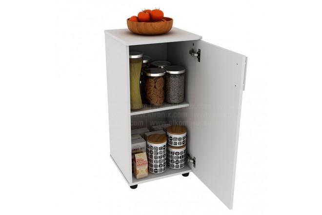 Mueble Auxiliar de  Cocina PRACTIMAC Lavanda Nevado