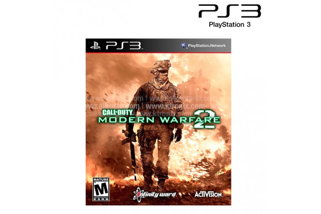 Video Juego PS3 SONY Call Of Duty Modern Warfare 2 Greatest Hits