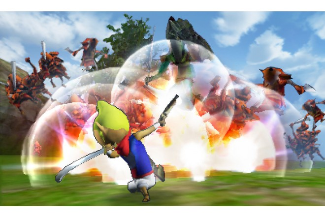 Videojuego Hyrule Warriors Legends 3DS