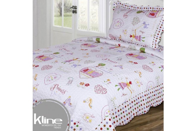 Cubrecama K-LINE Semidoble Princess