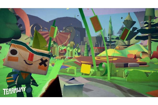 Videojuego PS4 Tearaway Unfolded