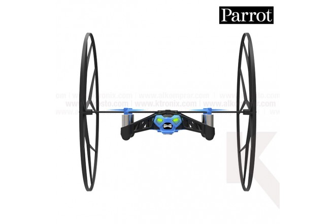 Mini Drone Parrot Rolling Spider  Azul