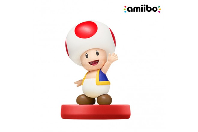 Amiibo TOAD SUPER