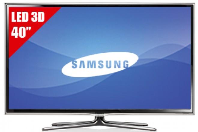 """TV 40"""" LED SAMSUNG UN40ES6800 FHD 3D"""