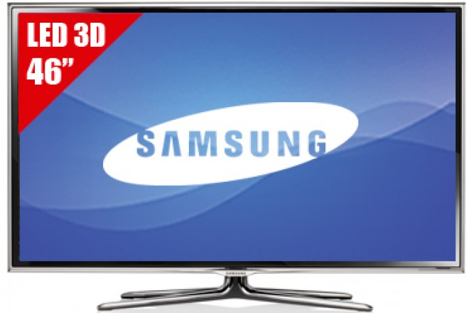 """TV 46"""" LED SAMSUNG 46ES6800 FHD 3D"""