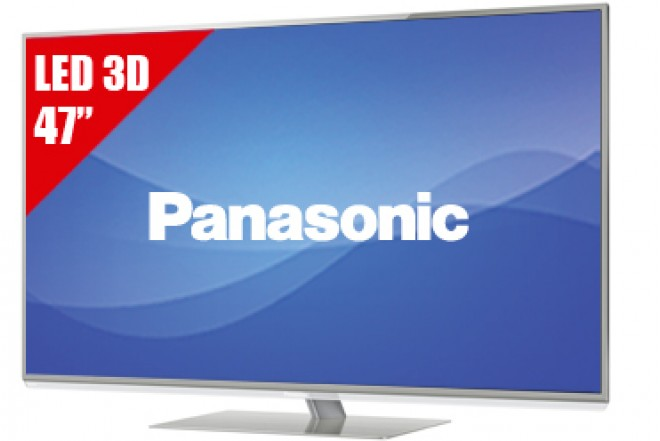 "TV 47"" LED PANASONIC L47DT50 FHD 3D"
