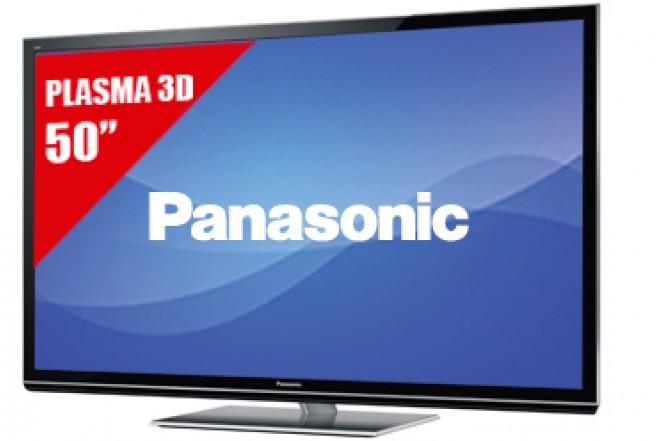 "TV 50"" Plasma PANASONIC 50GT50 FHD3D"
