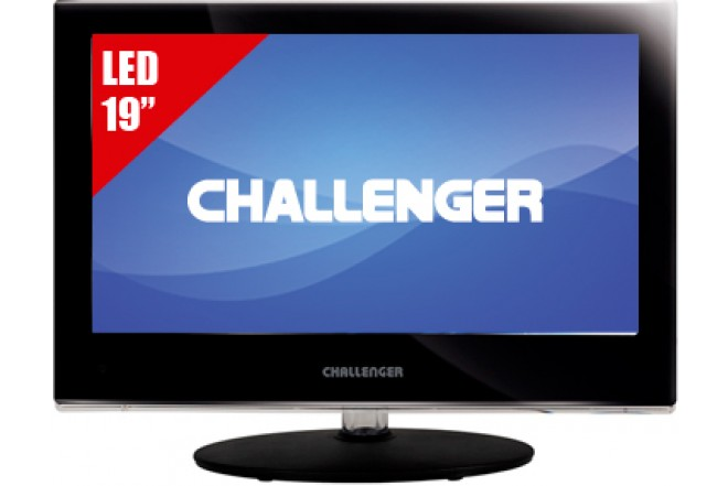 "TV 19"" LED CHALLENGER 19D60 HD"