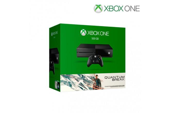 Consola XBOX ONE 500G + 1 Control + Videojuego Quantum Break