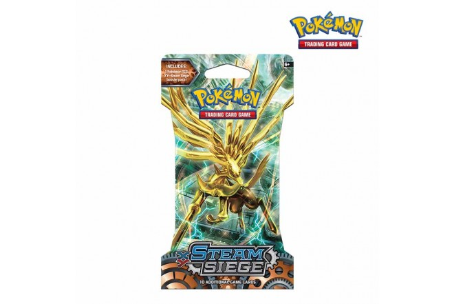 Pokémon TCG Steam Siege Sleeved B