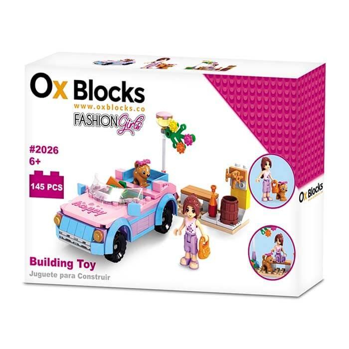 OX BLOCKS Set de Bloques para armar Día de Paseo de 145 piezas ... 2fa4d11fba68