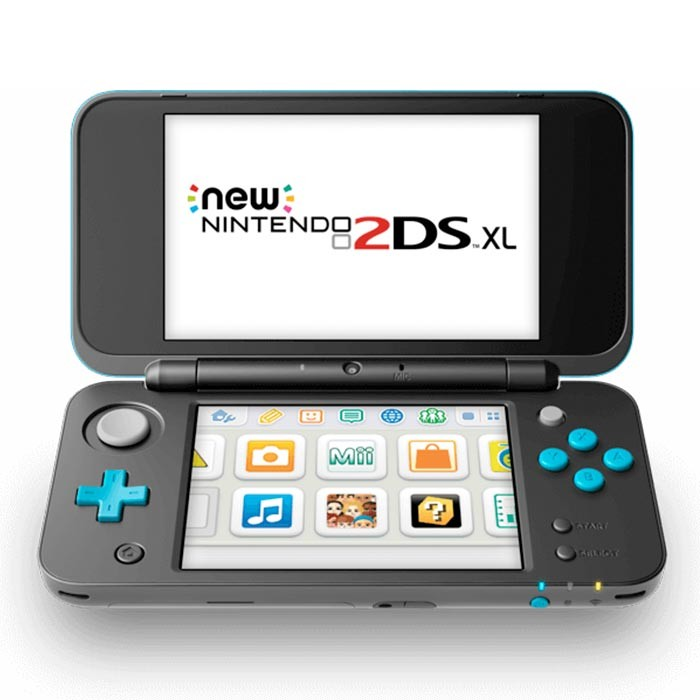 new nintendo 2ds xl negra turquesa