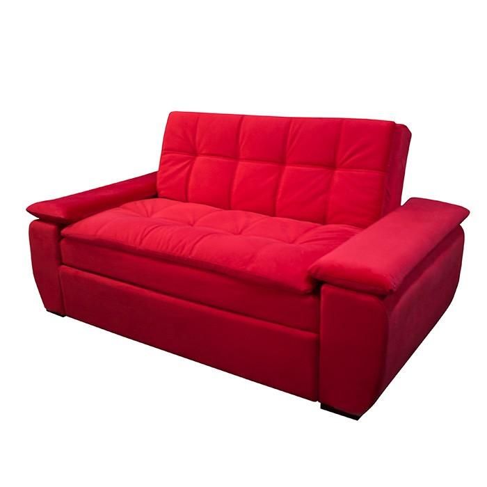 Sof cama espumados brooklin focus rojo for Imagenes de sofa cama