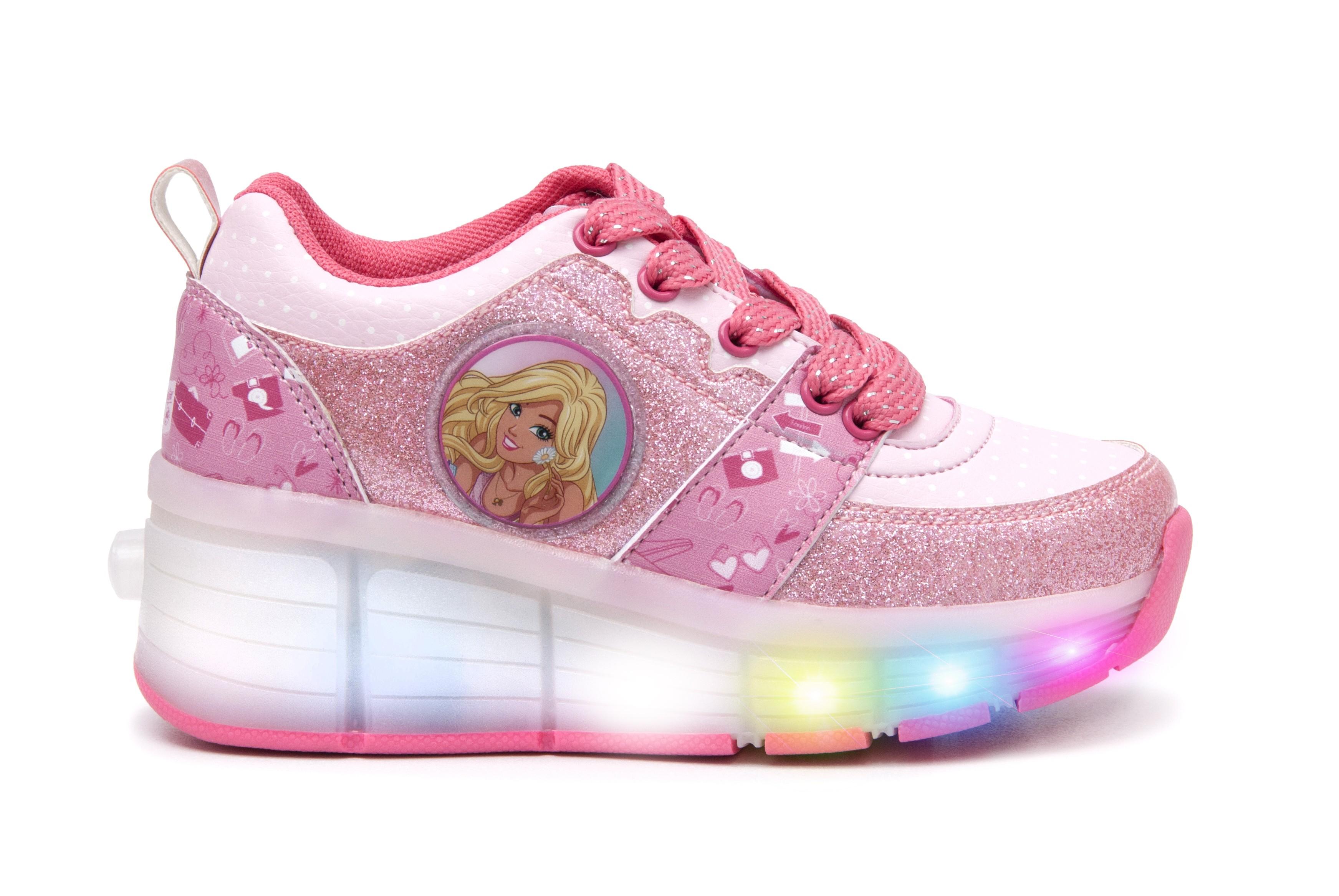 170b1e0c47131 BARBIE Zapato Ruedas Barbie Talla 30 Rosado Alkomprar.com