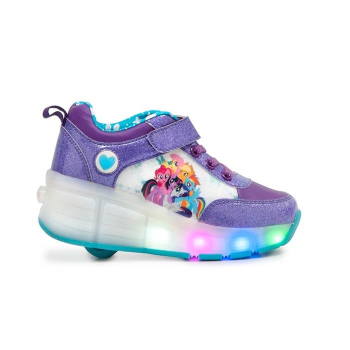 be9912f8d7e92 LITTLE PONY Zapatos Ruedas Talla 29 Rosado Alkomprar.com