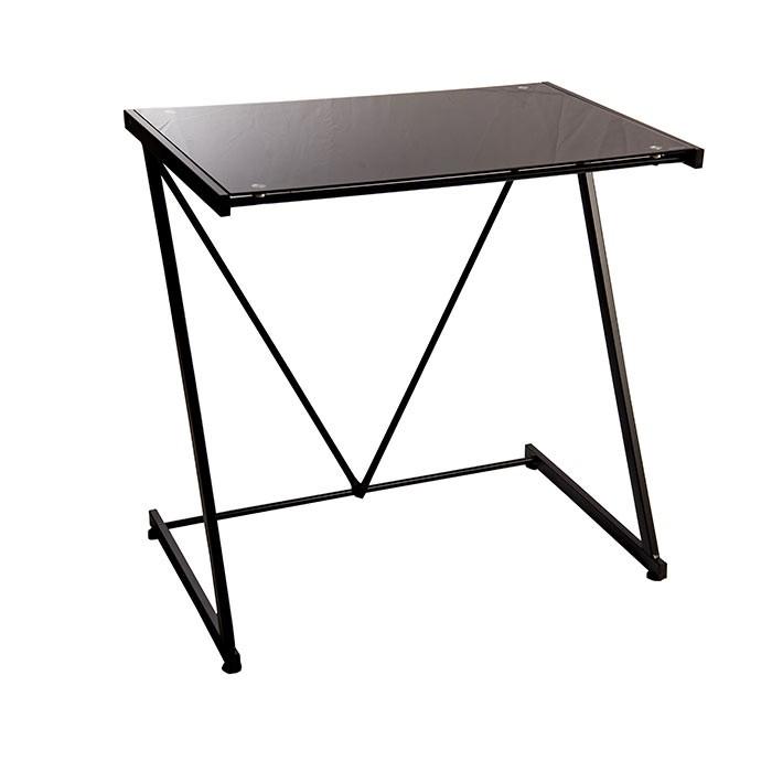 Mesa escritorio tukasa vidrio negra - Mesa escritorio negra ...