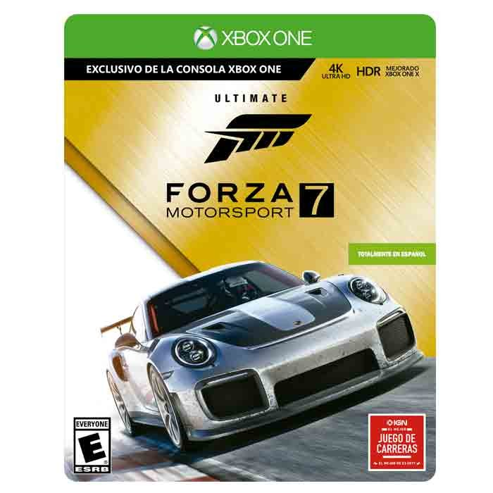 Videojuego Xbox One Forza Motorsport 7 Ultimate Edition Alkomprar Com