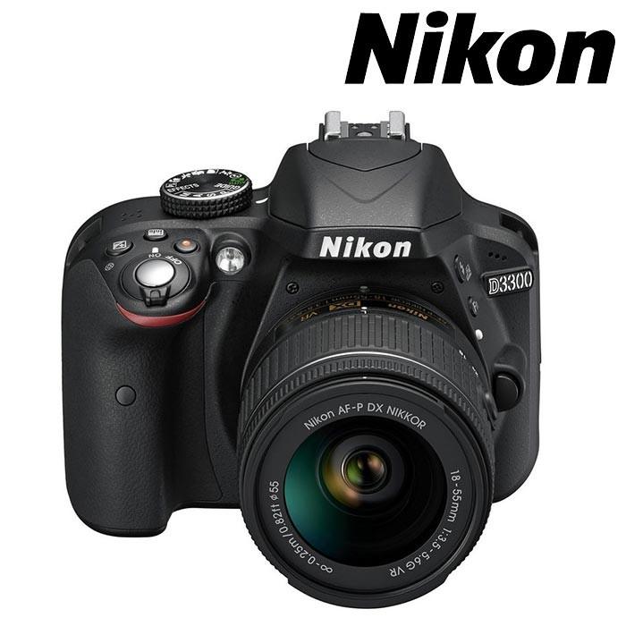 Cámara NIKON D 3300 Profesional + 18-55 AFP VR + Estuche + Memoria 8 ...