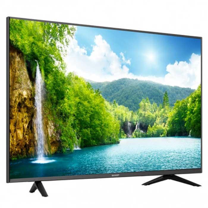 tv 55 139 cm sharp led 55n6000 uhd. Black Bedroom Furniture Sets. Home Design Ideas