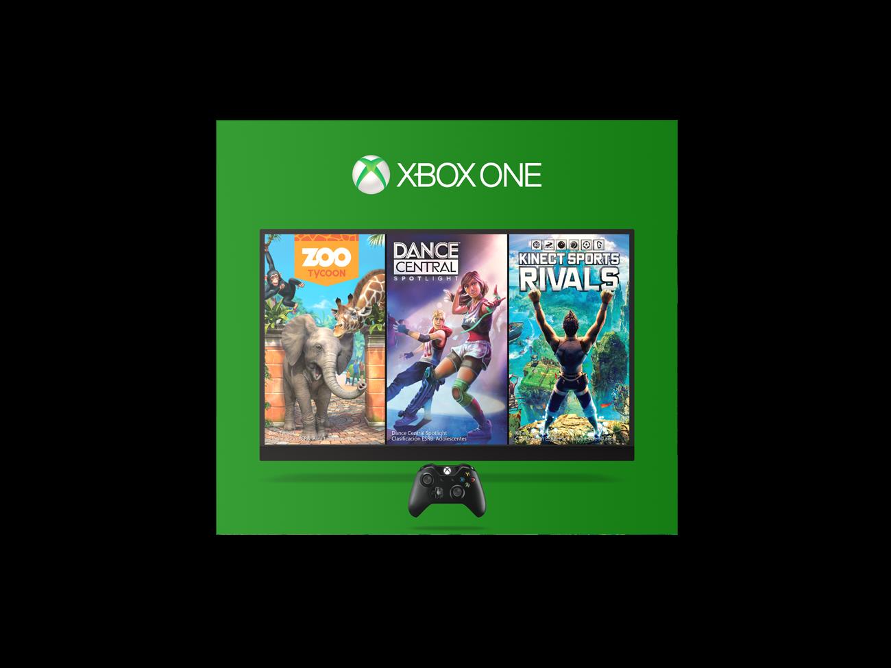Consola Xbox One 500gb 1 Control Kinect 3 Juegos Alkomprar Com