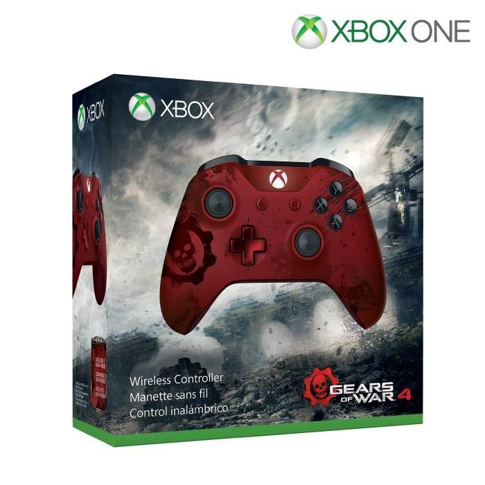 5aaaf7bfd08 Control inalámbrico XBOX ONE Edición limitada Gears of War 4 ...
