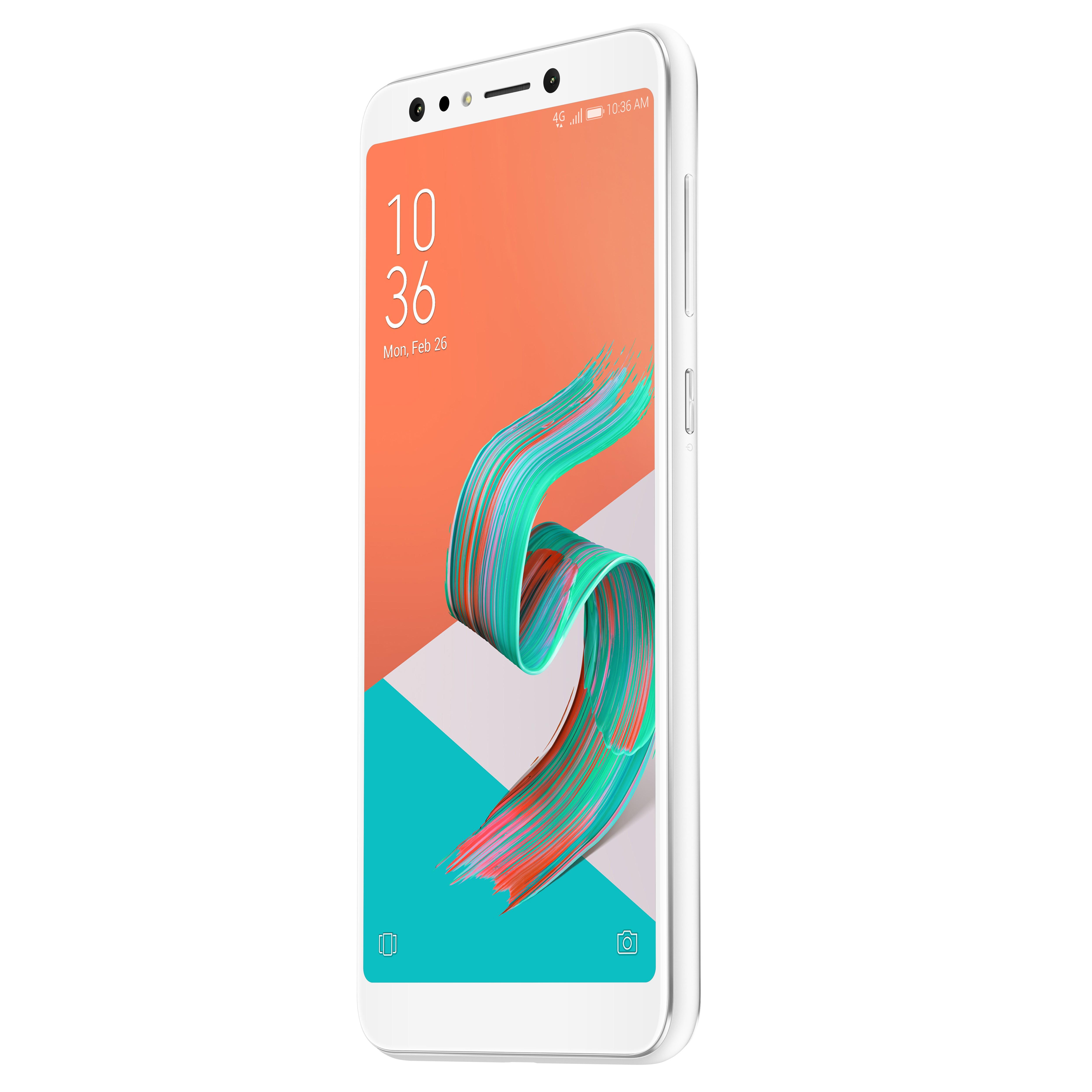 Celular ASUS Selfie Pro 5Q DS 4G Blanco Alkomprar.com