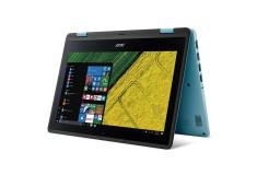"""Convertible 2 en 1 ACER - P0U7 - Intel Pentium - 11.6"""" Pulgadas - Disco Duro 500Gb - Turquesa Azul / Negro"""