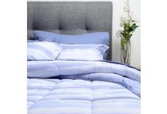 Comforter + Cubrecama K-LINE Doble Disper Azul
