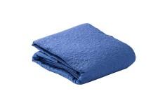 Cubrelecho Doble KAMUCHY Laberinto Azul