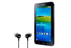 "Samsung Galaxy Tab E 7""   Wi-Fi   8GB Negro + Audífonos"