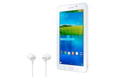 "Samsung Galaxy Tab E 7""   Wi-Fi   8GB Blanco + Audífonos"