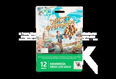 Tarjeta XBOX 360 Live 12 Meses Sunset Overdrive