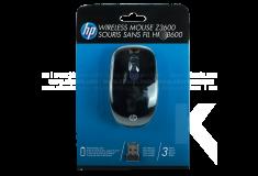 Mouse HP Inalámbrico Z3600 Azul/Negro