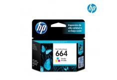 Cartucho HP 664 Tri-color