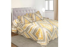 Cubrecama Doble K-LINE estampado Chevron